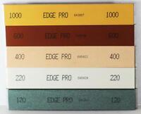 Edge Pro 1 Mounted Sharpening Stone Set 1 Of Each Grit 120 220 400 600 & 1000