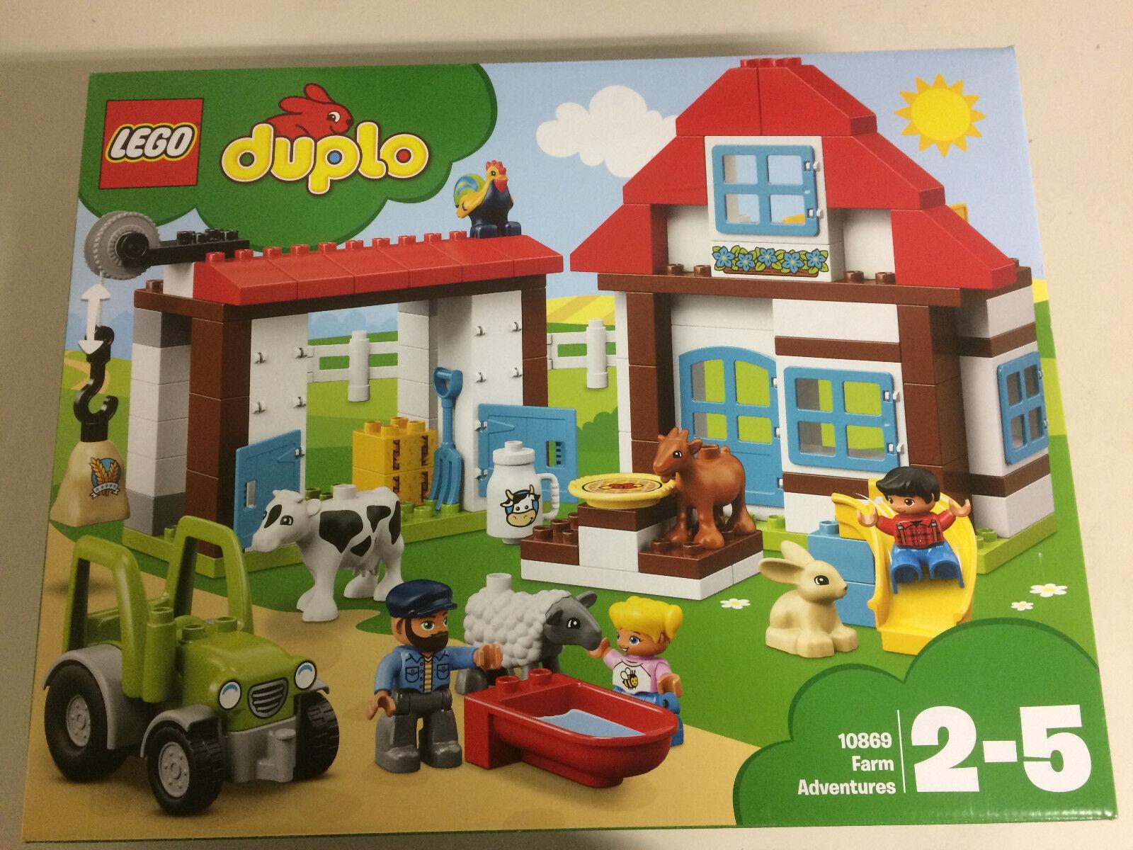 LEGO DUPLO 10869 FARM ADVENTURES - VISITIAMO  LA FATTORIA Nuovo nouveau sealed  connotation de luxe discret