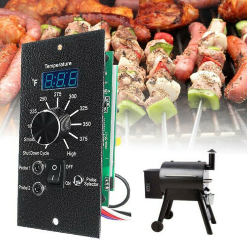 Details about  /Digital BBQ Thermostat Controller Board Parts Fit For Traeger Wood Pellet Grills