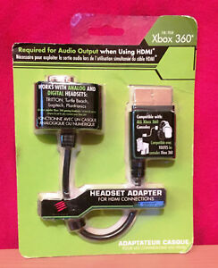 Mad-Catz-Headset-Adapter-For-Xbox-360-Using-HDMI-Cable-Sound