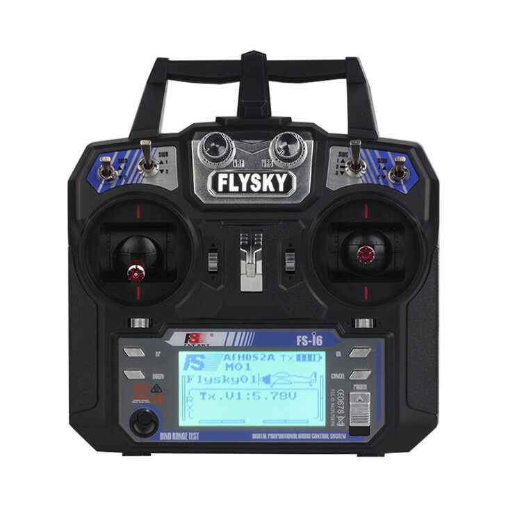 Flysky FS-i6 Channel Radio Transmitter + Receiver f RC Quadcopter Helicopter