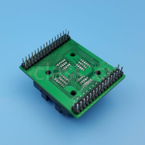 QFP64 TQFP64 to DIP64 Pitch 0.5mm IC Programmer Adapter Test Socket