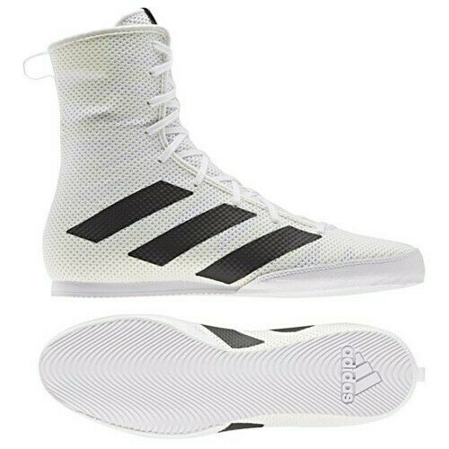 Adidas Box Hog 3 Boxing Boots Mens Sports trainers Size Uk 9 10.5 9.5