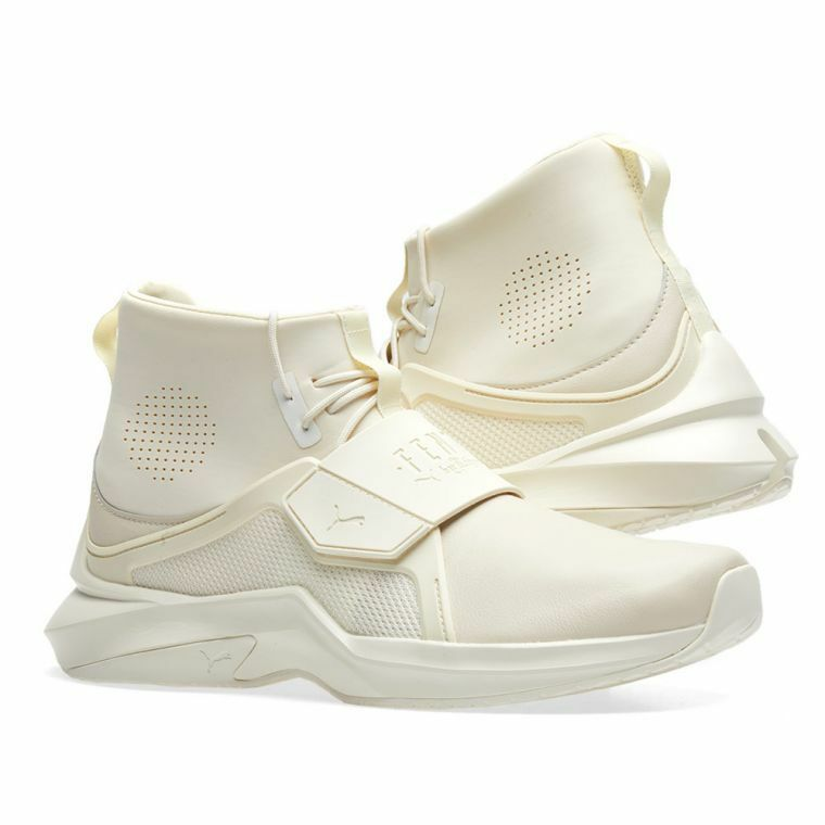 Women's Puma Trainer Hi Rihanna Fenty Shoe Size 7 NIB Gym Fitness Whisper White