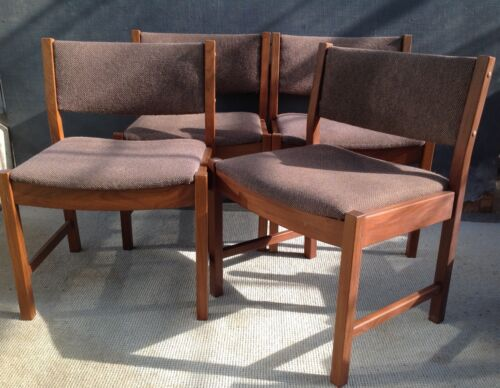 Gordon Russell Broadway Cotswold School set of 4 mid century dining chairs