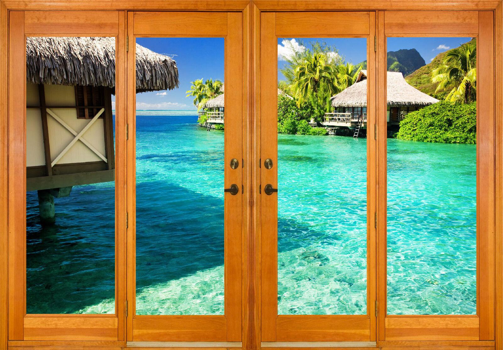 Aufkleber Fenster Schein Auge Deko Deko Deko der Maldives Ref 2558 (10 Größe) ab16f9