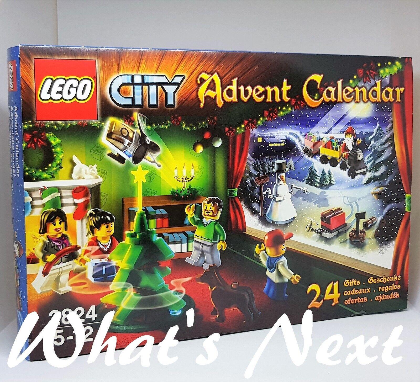 LEGO City 2010 Advent Calendar  2824  NEW  EAN 5702014602434, Item: 4560742