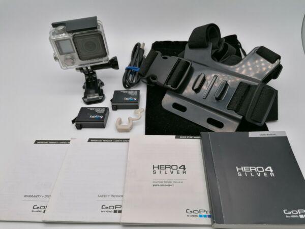 CoopéRative Gopro Hero 4 Silver & Chesty Action Cam Écran Tactile Idéal Pour Agression Cours à Tout Prix