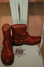 Frye Phillip Harness Boots Brown sz 8