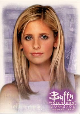 Buffy TVS Season 3 Boxloader Bonus Card BL3   Season Four