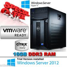 Dell PowerEdge T310 X3430 2.4Ghz QuadCore 16GB DDR3 & 2x1TB 7.2K RPM SAS Perc6/i