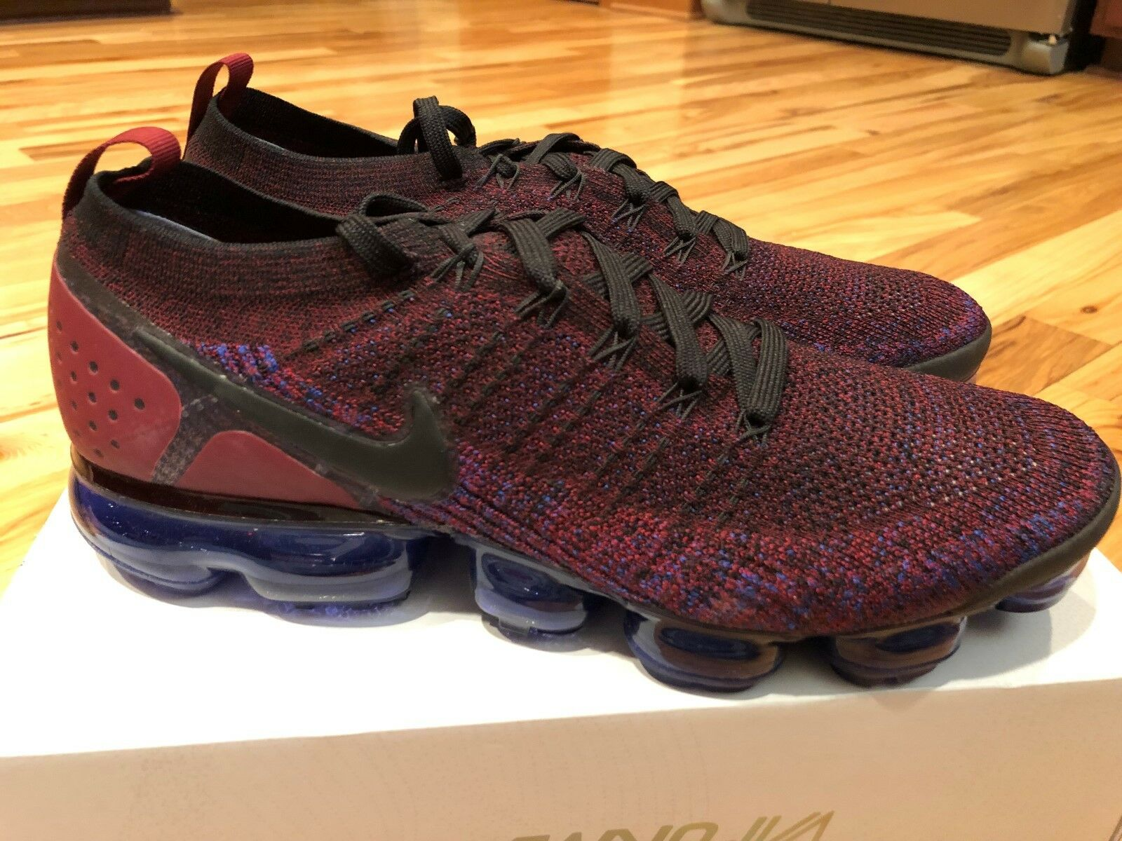 Nike Men's Air Vapormax Flyknit 2 Competition Running Shoes