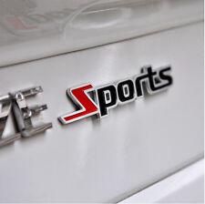 3D Metal Sports Emblem Badge logo Car / Bike Sticker Chrome : Free Shipping
