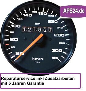 Porsche-911-993-964-Kilometerzaeher-defekt-Tacho-Fehler-Reparatur