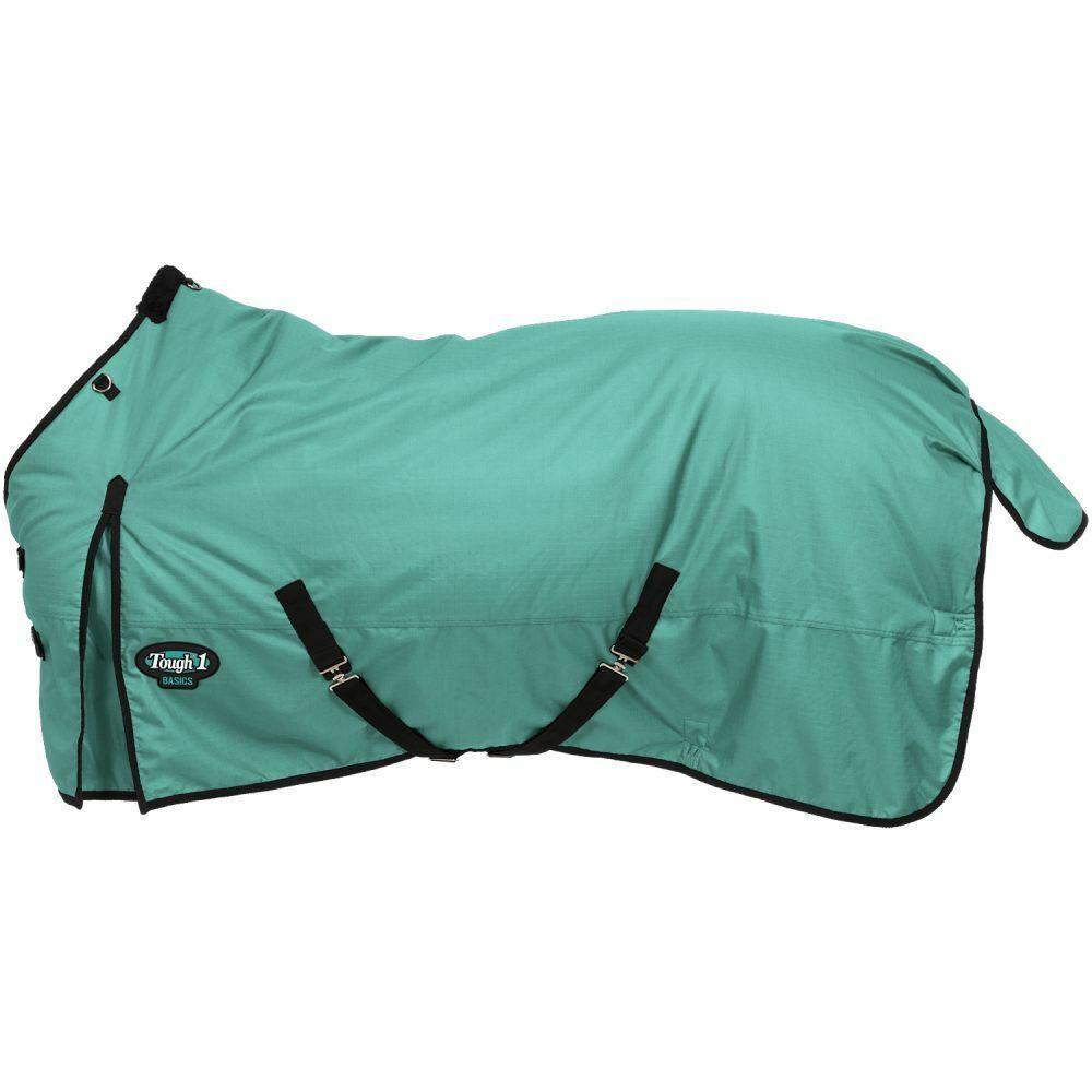Tough 1 Winter Horse Turnout Blanket Medium Heavyweight 1200D Turquoise