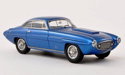 Maravilloso modelCoche Jaguar Xk120 Ghia súpersonic 1954-Azul Metalizado - 1 43