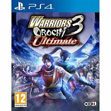 PS4 Games Warriors Orochi 3 Ultimate Brand New & Sealed