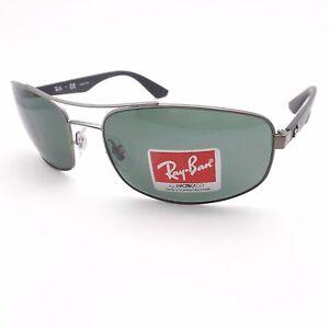 83d520b04a Ray Ban 3527 029 71 Matte Gunmetal Gray Green New Sunglasses ...