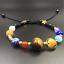 Charm-Men-Natural-Lava-Rock-Gemstone-Beads-Bracelet-Buddha-Head-Beaded-Bracelet miniature 46