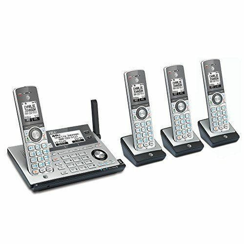 AT/&T 4-Handset DECT 6.0 Cordless Phone Bluetooth with Answering System