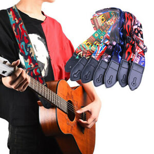 Nice-Guitar-Strap-for-Electric-Acoustic-Bass-Adjustable-Soft-Nylon-Webbing-Belt