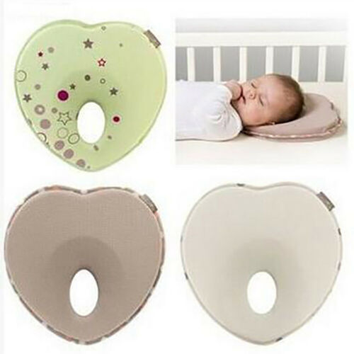 Love nest infant newborn baby ergonomic pillows head support prevents flat he xf