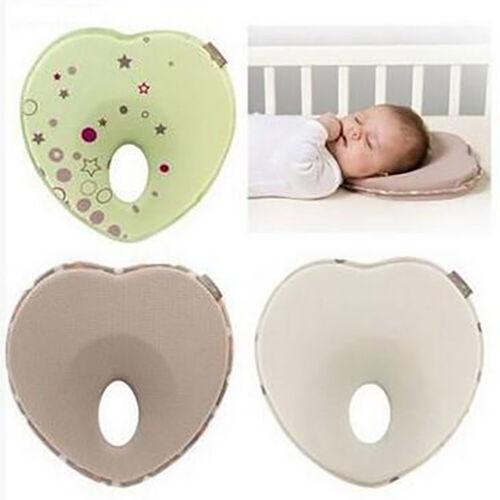 Love nest infant newborn baby ergonomic pillows head support prevents flat he xf