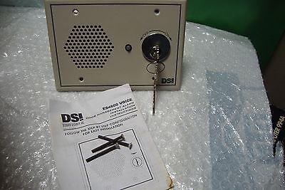 DPDT KEYSWITCH DSI ES4600K6 DOOR MGMT ALARM WITH VOICE