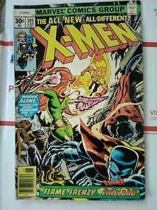 X-MEN-105-MARVEL-COMIC-1977-NICE-XMEN-X-MEN-105