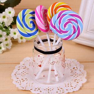 Novelty-Cute-Lollipop-Rubber-Eraser-Pencil-Stationery-School-Kids-Gift-MO
