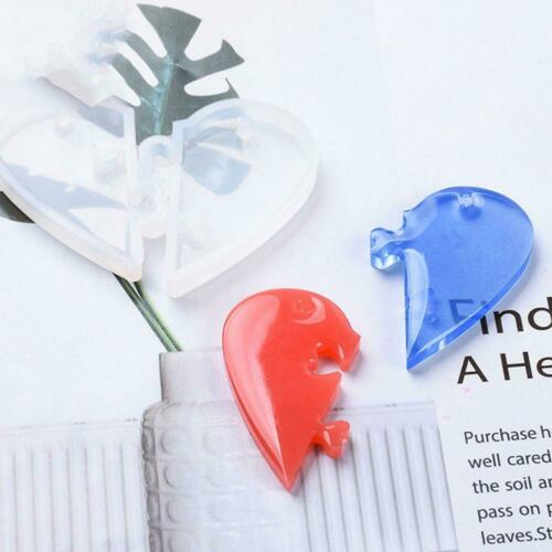 Love locks for lovers Pendant Silicone Mold DIY Epoxy Resin Mould Jewelry Tool
