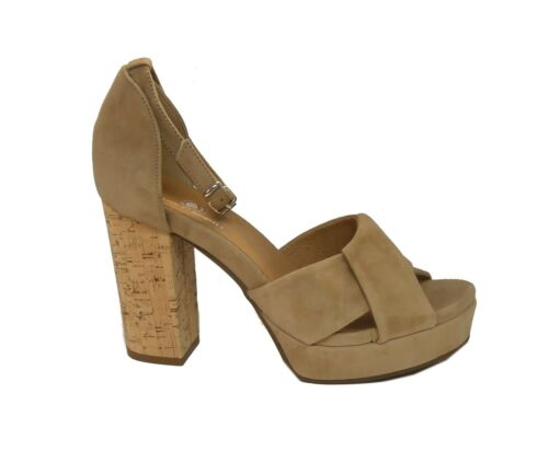 Janet sport sandalo 39854 Malik camoscio sabbia