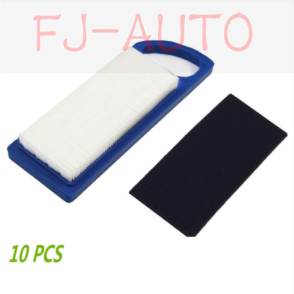 FA 10PCS Filtro de aire para Briggs & Stratton 698083 6971 53 697014 795115