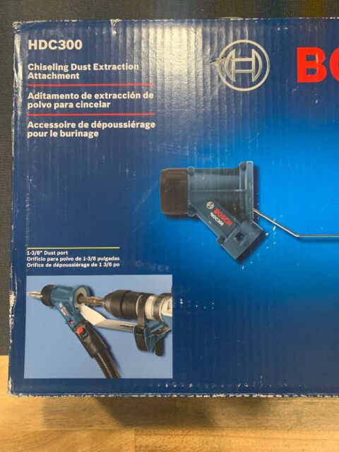 Hex Chiseling Dust Collection Attachment Bosch HDC400 1-1//8 In