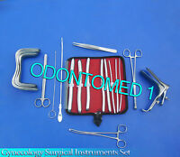 Gynecology Surgical Instrument Kit Sims+graves Speculum Small+hegar Dilators Kit