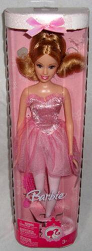 Barbie Pink Ballerina Collector Doll Mint in Box Mattel L8548 2007 Toy Figure!