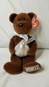 Ty Beanie Baby Cocoa Bean the Hersey Kisses bear 2007 Walgreens exclusive