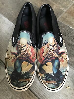 IRON MAIDEN : Vans Shoes (Limited Ed