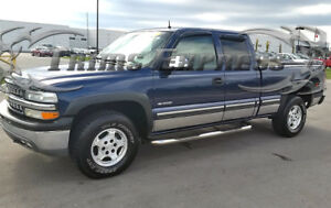 1999-2006-Chevy-Silverado-4Dr-Extended-Cab-Short-Bed-Rocker-Panel-Trim-6-034-w-Flare