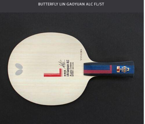 Bat Tennis de table raquette St Lame Papillon Lin gaoyuan ALC penhold FL