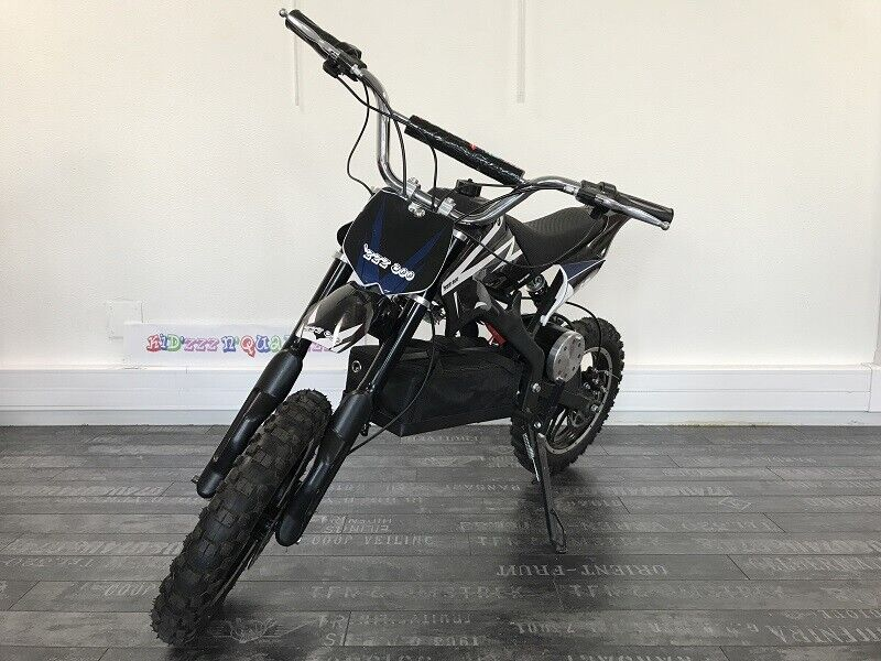 Dirt Bike ZZZ 800 Moto Cross électrique quad 36V 800W  35 km h rapide sécurisée