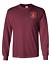 "USMC 2nd Marine Division /""Silent Second/"" Long-Sleeve Cotton Shirt-8960"
