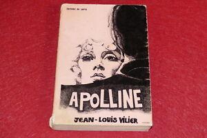 EROTISME-BIBLIOTHEQUE-D-039-UN-AMATEUR-Jean-Louis-VILIER-APOLLINE-EO-1970-Japyx