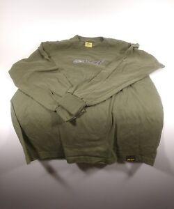 Reef-Brand-Long-Sleeve-Men-039-s-Medium-Bikini-Girls-Green-T-Shirt