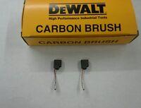 Dewalt Grinder Motor Brush Set ( 2 Brushes ) 650916-01 / D28402/ D28 000 Series
