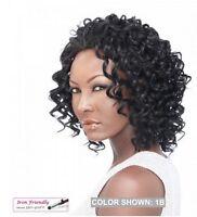 It's A Wig It's A Half Wig Hw Jessica Short Tight Curls Half Wig Iron Friendly