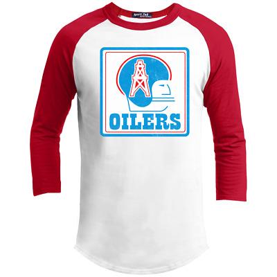 T-shirt Football Texas Throwback Logo Houston Oilers R Franchise Defunct