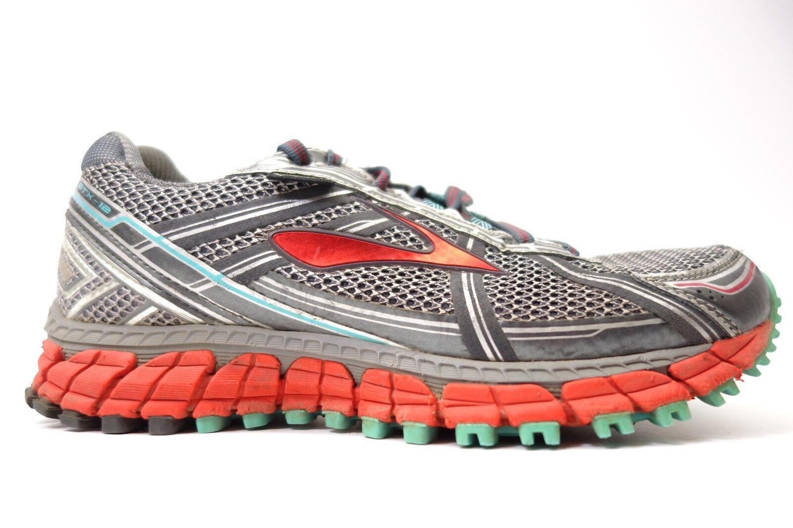 Brooks donna  Adrenaline ASR 12 GTX Waterrepous Running Athletic scarpe Dimensione 7.5  autentico
