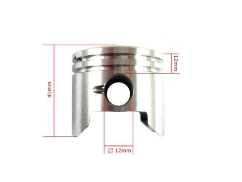 Hmparts Pocket Bike Dirt Bike 49 Ccm 2 Tact Lot de Cylindres 44 Mm