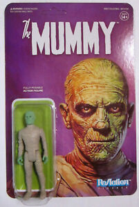 "Angemessen Universal Monsters The Mummy 10 Cm / 3 3/4"" Reaction Super7"